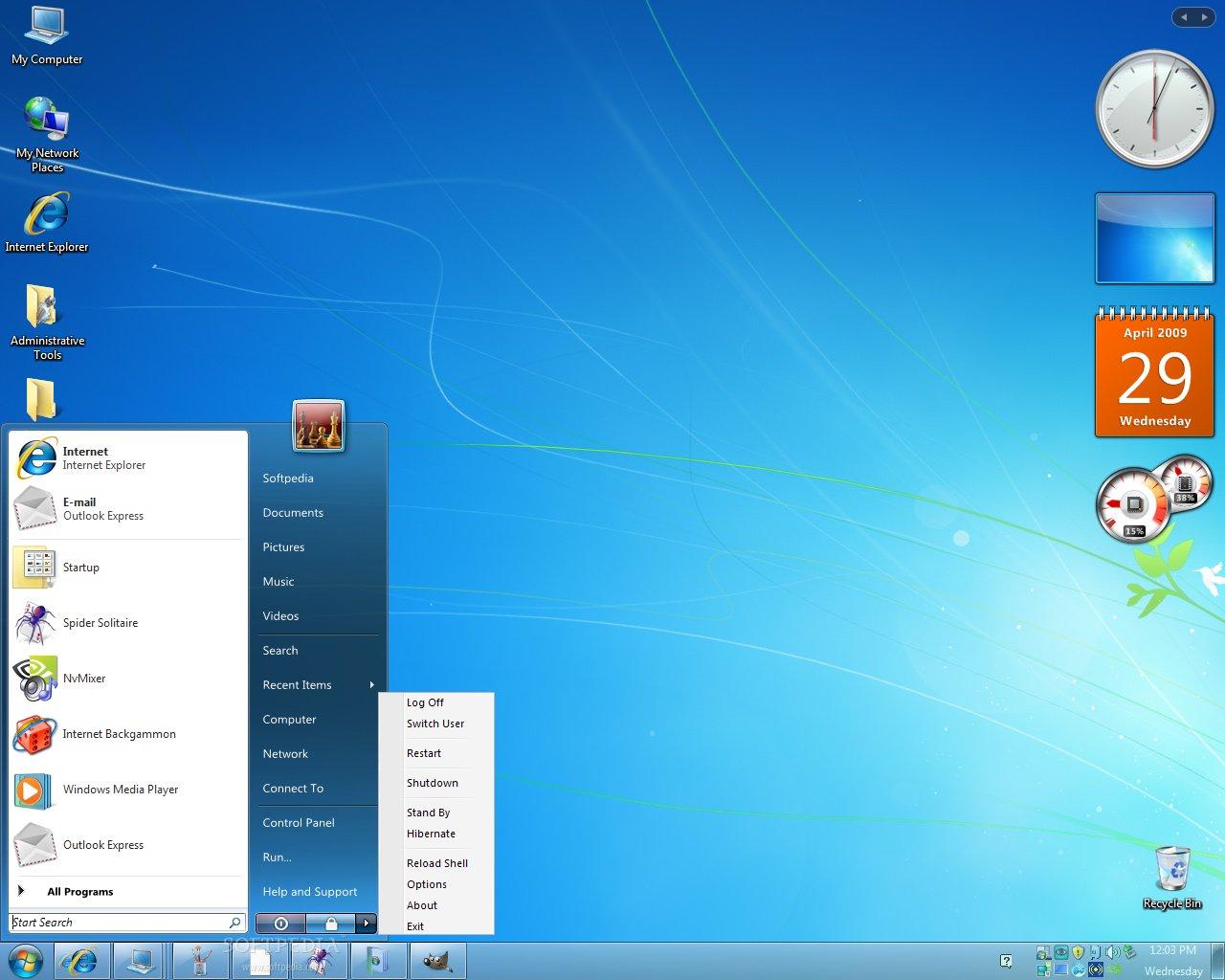 الويندوز بهدا البرنامج Windows Transformation