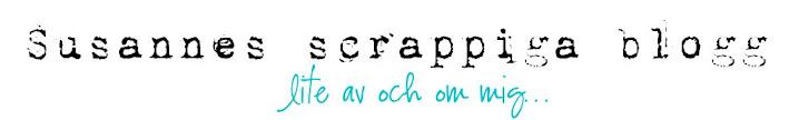 Susannes scrappiga blogg