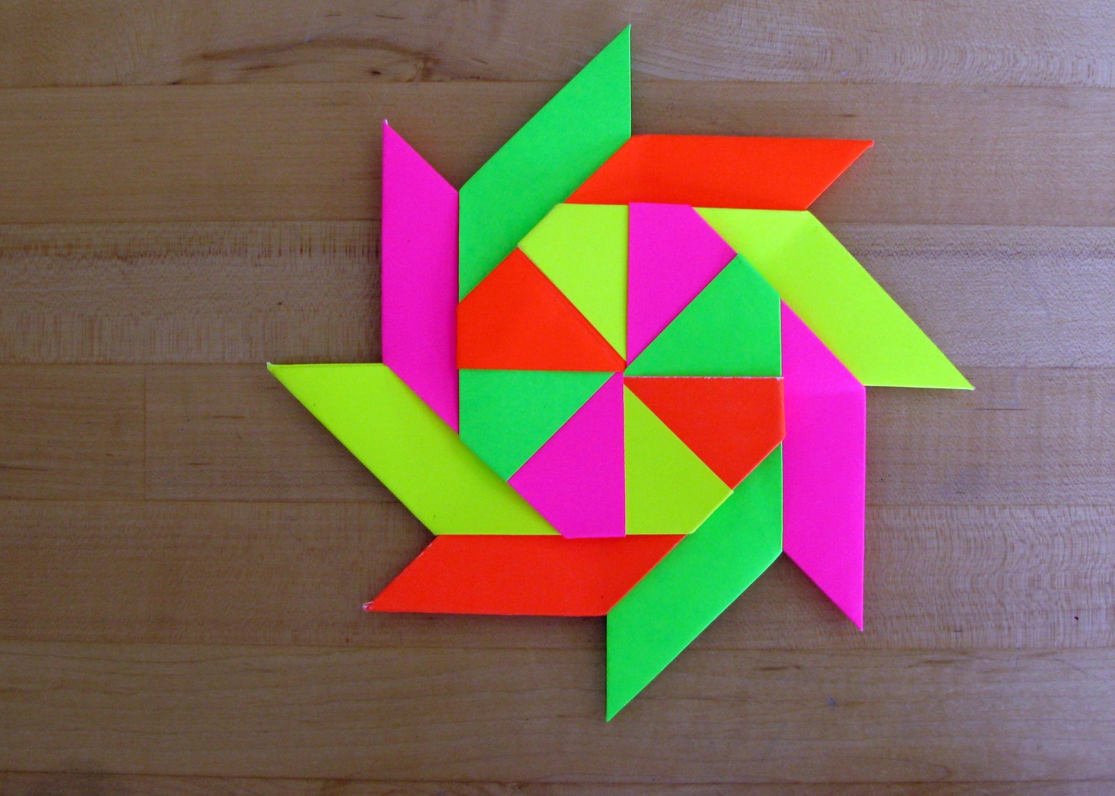 origami by umed  8 pointed star