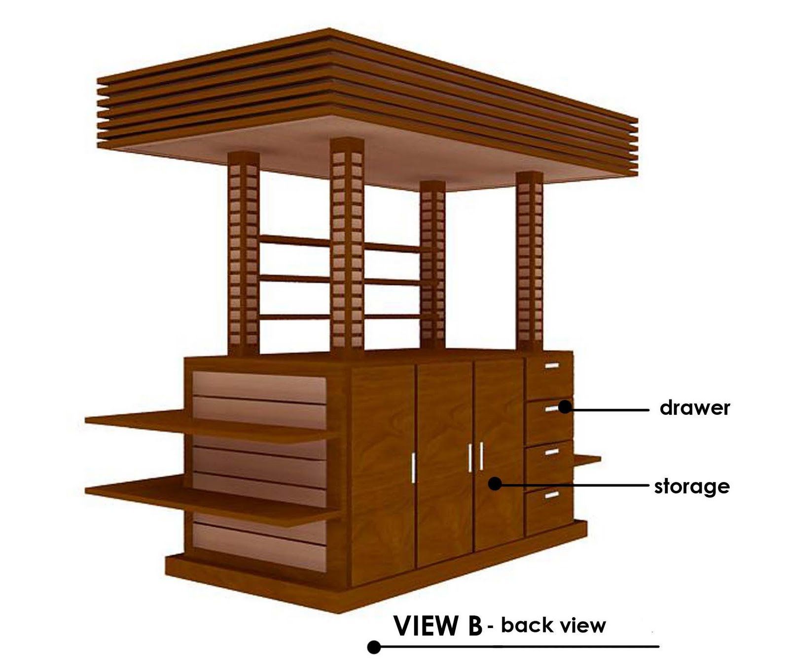 Rekadecor interior portfolio kiosk design for Architecture kiosk design