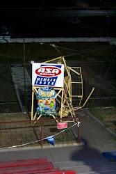 I-94 Raceway flagstand