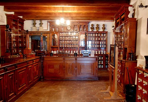 Traditional Romanian Pharmacy