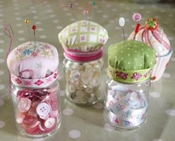 Baby Jar Pin Cushion Tutorial