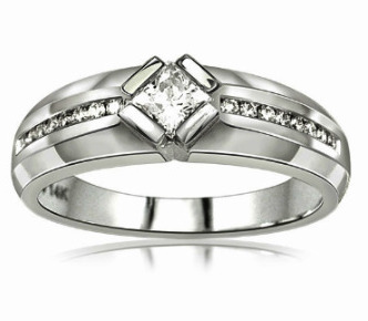 Cheap Mens Diamond Wedding Bands