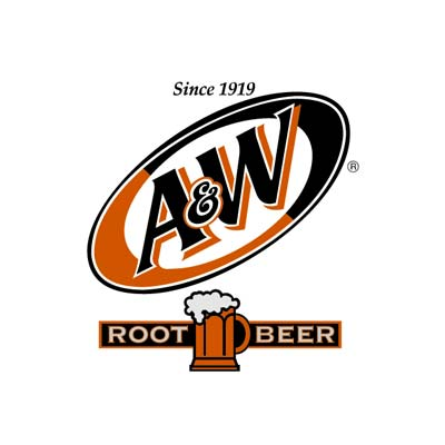 Aandw root beer logo
