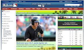 MexPac en MLB Webpage