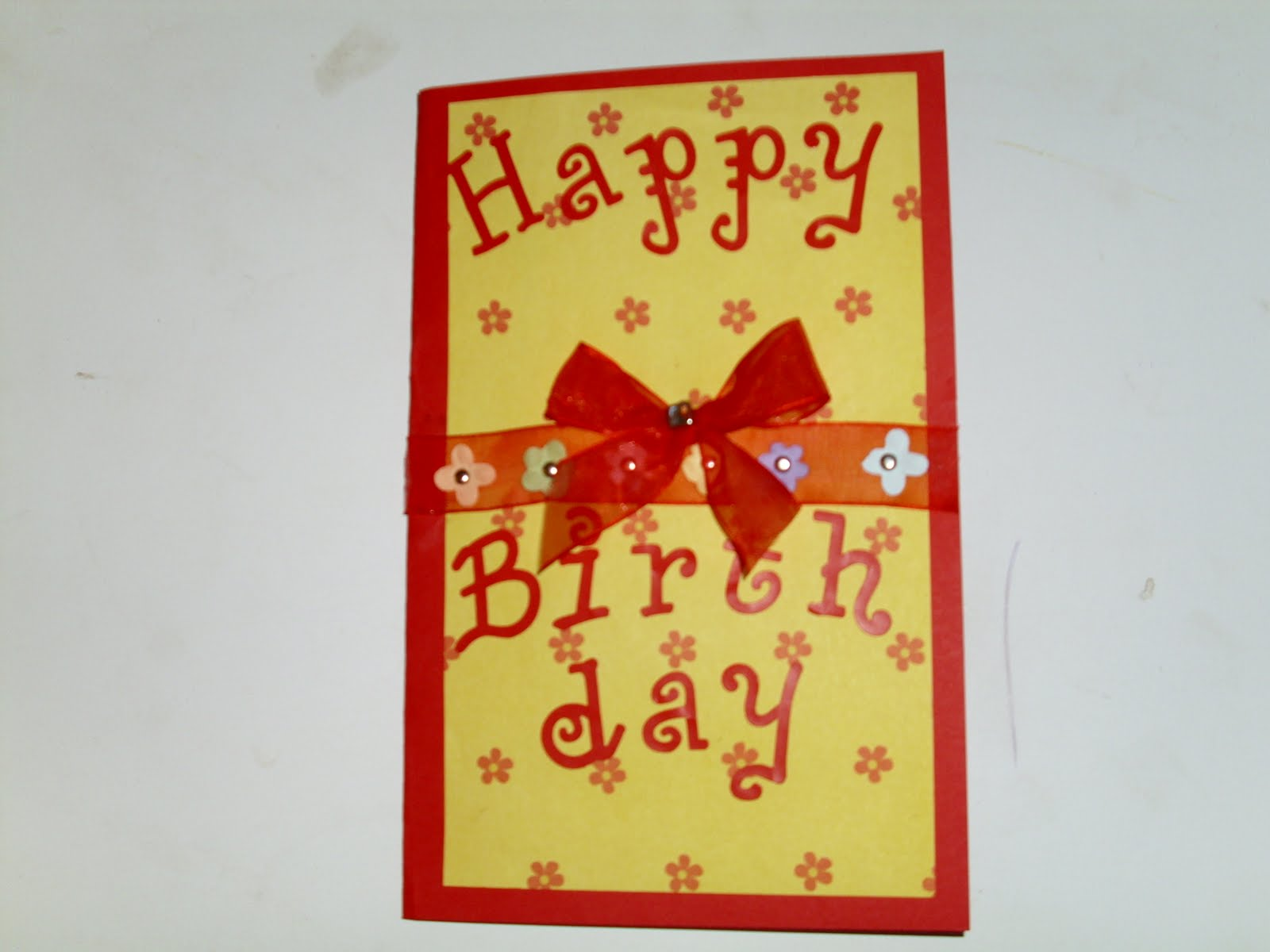 A fast and easy way to make a beautiful greeting card with a few simple supplies you can make a beautiful greeting card in no time at all you may be surprised at just how talented you are m4hsunfo