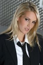 Modelo de mujer ejecutiva