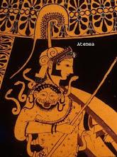 Palas Atenea en una pintura clásca