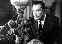 Haunted by Vincent Price's devilish eyebrows and unsettling mustache.