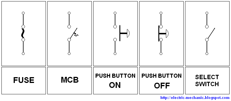 Ilmu listrik simbol simbol gambar listrik semua peralatan yang telah dijelaskan sebelumnya yaitu kontaktor relay timer dan tripper over load tinggal bagaimana kita menamakannya contoh asfbconference2016 Choice Image
