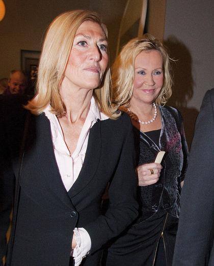 Agnetha Faltskog - The ABBA ICON: Agnetha and stylist ...