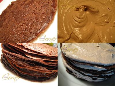 Darkest Chocolate Crepe Cake — Punchfork | Oh I wish I could bake ...