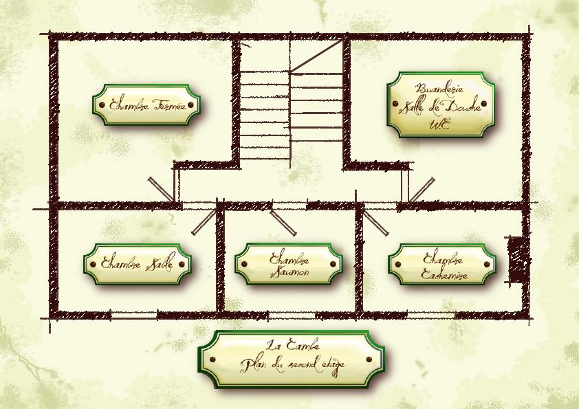 Plan maison 4 chambres tage for Tous les plans de maison