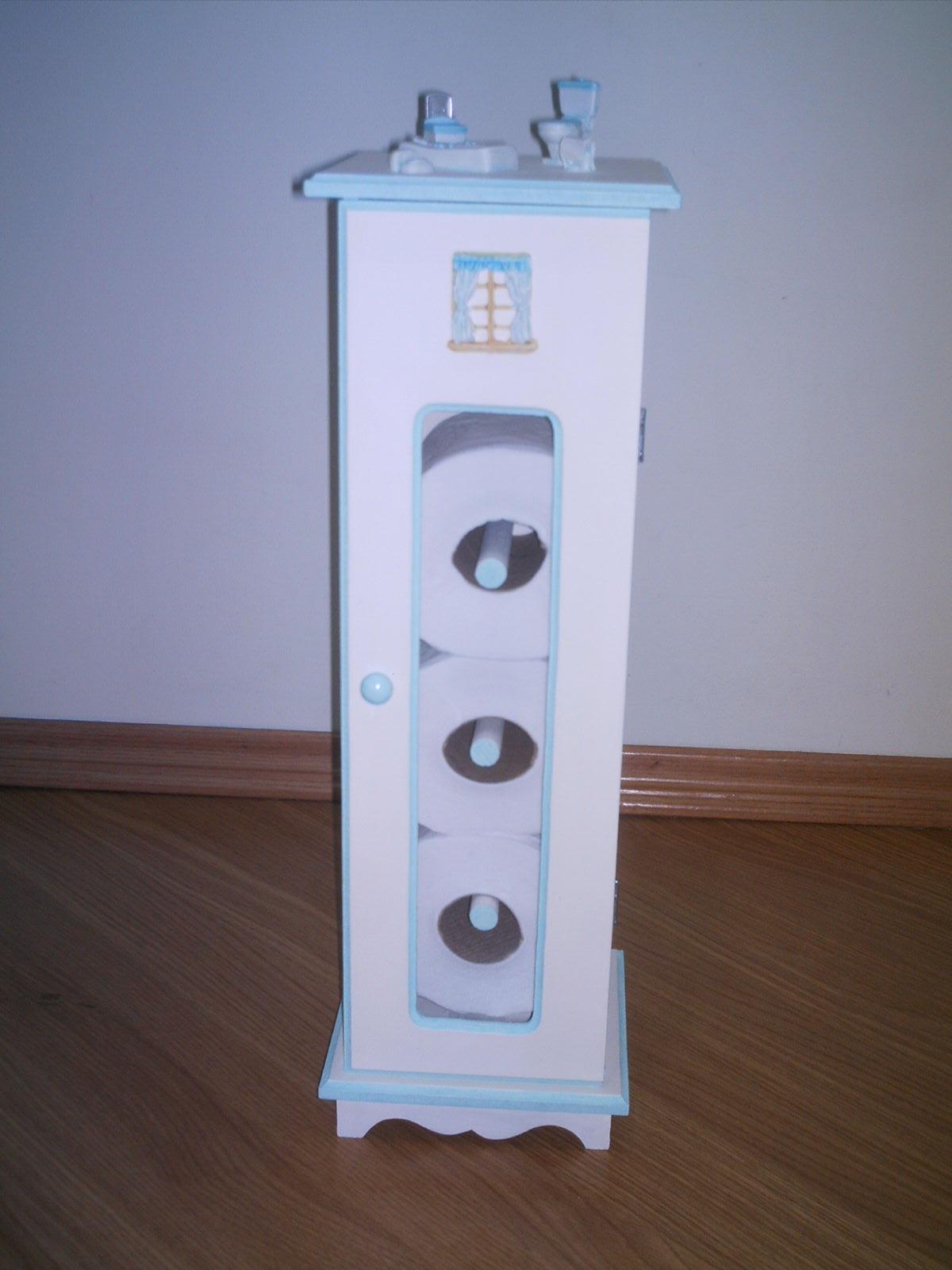 Artes da Cacau Armário Porta papel higiênico para banheiro # Armario De Banheiro Com Porta Papel Higienico