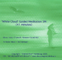 45min MEDITATION CD'S DIRECT FROM WHITE CLOUD.