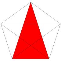 triángulo de 5 piezas