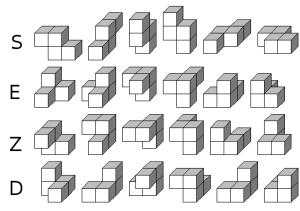 Otros cuatro policubos
