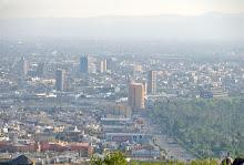 Toma panorámica sobre la Cd. de San Luis Potosí