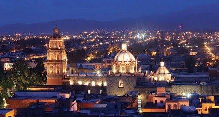 San Luis Potosí, la ciudad del fondo del estanque