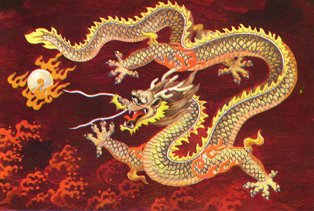 chinese dragon red Friday Musings: Short and Sweet