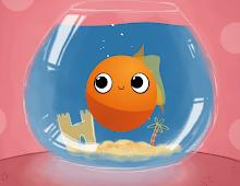 O Peixinho Dourado Tem um Recado para Ti!