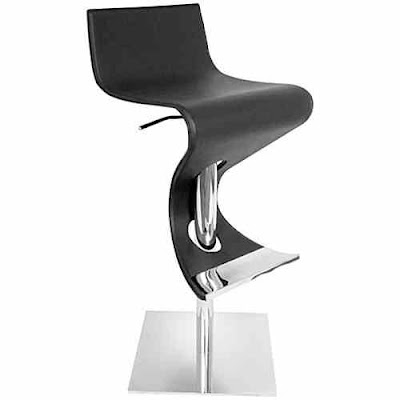 Feminine Viva Bar Stool Chair