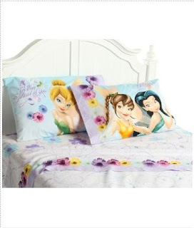 Modern Design Tinkerbell Fairies Flitterific Sheet Set bedroom furniture decor