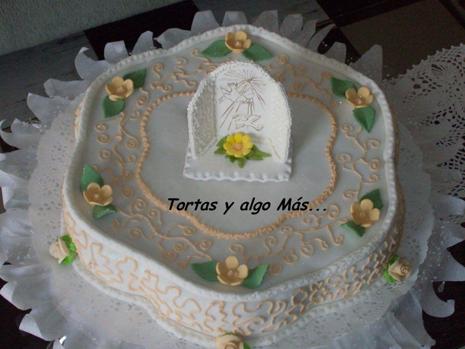 Tortas y Algo Más: Torta de Primera Comunión