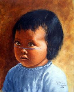 என்னை கண்டுபிடித்தால் 10  கோடி பரிசு Portrait-of-marias-baby-a-seri-indian-evelyne-boynton-grierson