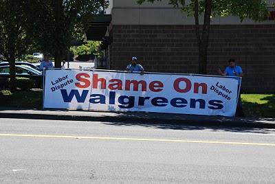 Shame on Walgreens
