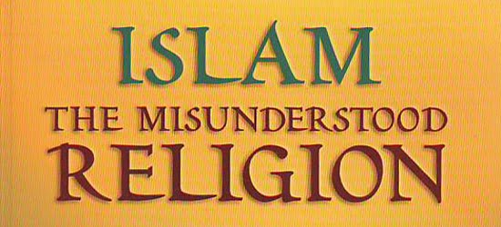 islam the most misunderstand religion in Why islam i think islam is the most misunderstood religion in the world not just by non-muslims, but by muslims as well mainly, non-muslims information on islam is based on what they see on television and in the.