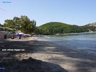 La plage d'Arillas, Syvota
