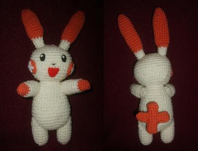 Amigurumi Pokemon Wolfdreamer : Plusle and Minun Pokemon Free Crochet Pattern from the ...