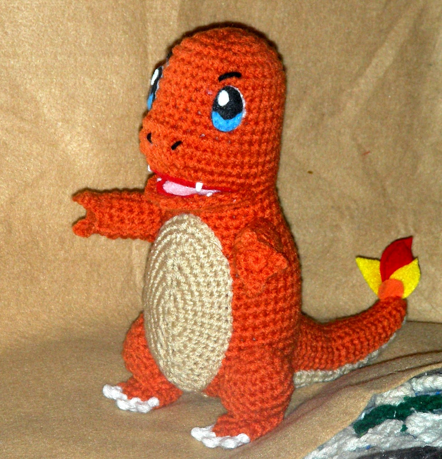 WolfDreamer: Charmander Plushie