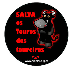 Touradas NÃO!!!