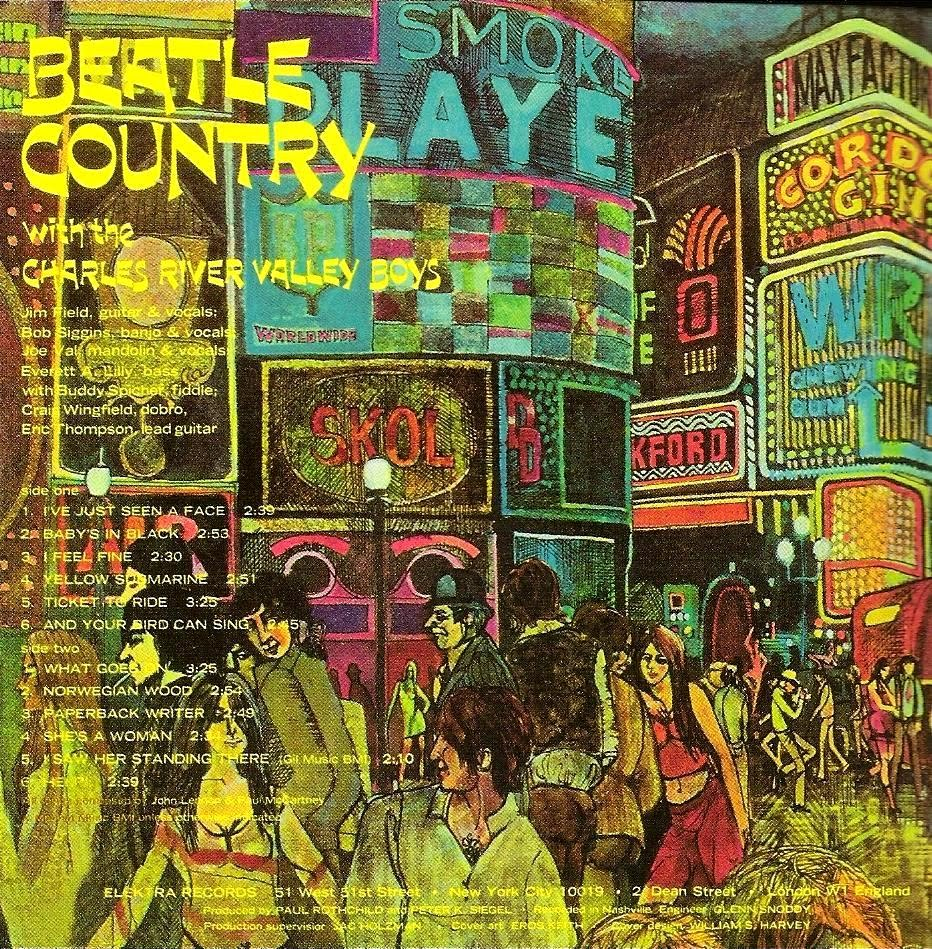 Charles River Valley Boys Beatle Country