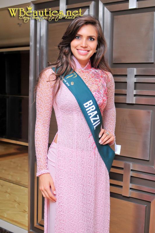 miss earth 2010 ao dai brazil luisa de almeida lopes