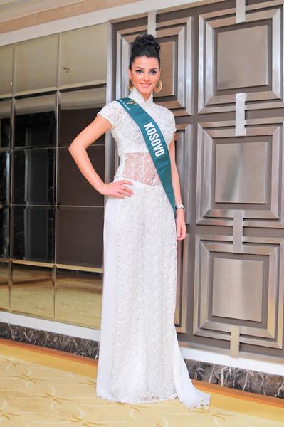 miss earth 2010 ao dai kosovo morena taraku