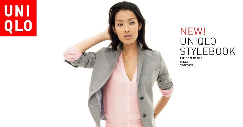 ASIAN MODELS BLOG: Sumire Ad Campaign for Uniqlo, Spring 2009