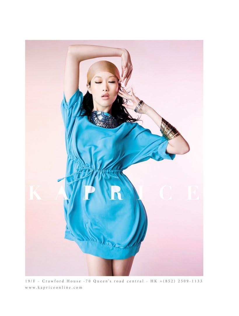 ASIAN MODELS BLOG: Angie Ng in Ad Campaign for (Hong Kong