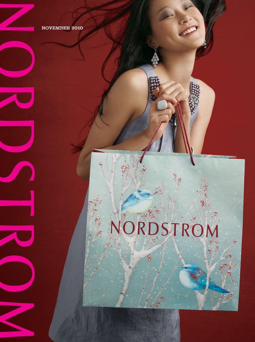 Asian Models Blog  Hyoni Kang On Cover Of Nordstrom