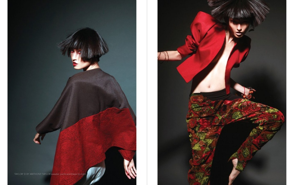 Model: Wang Xiao, No.3 Magazine, Issue #1, Spring 2011 