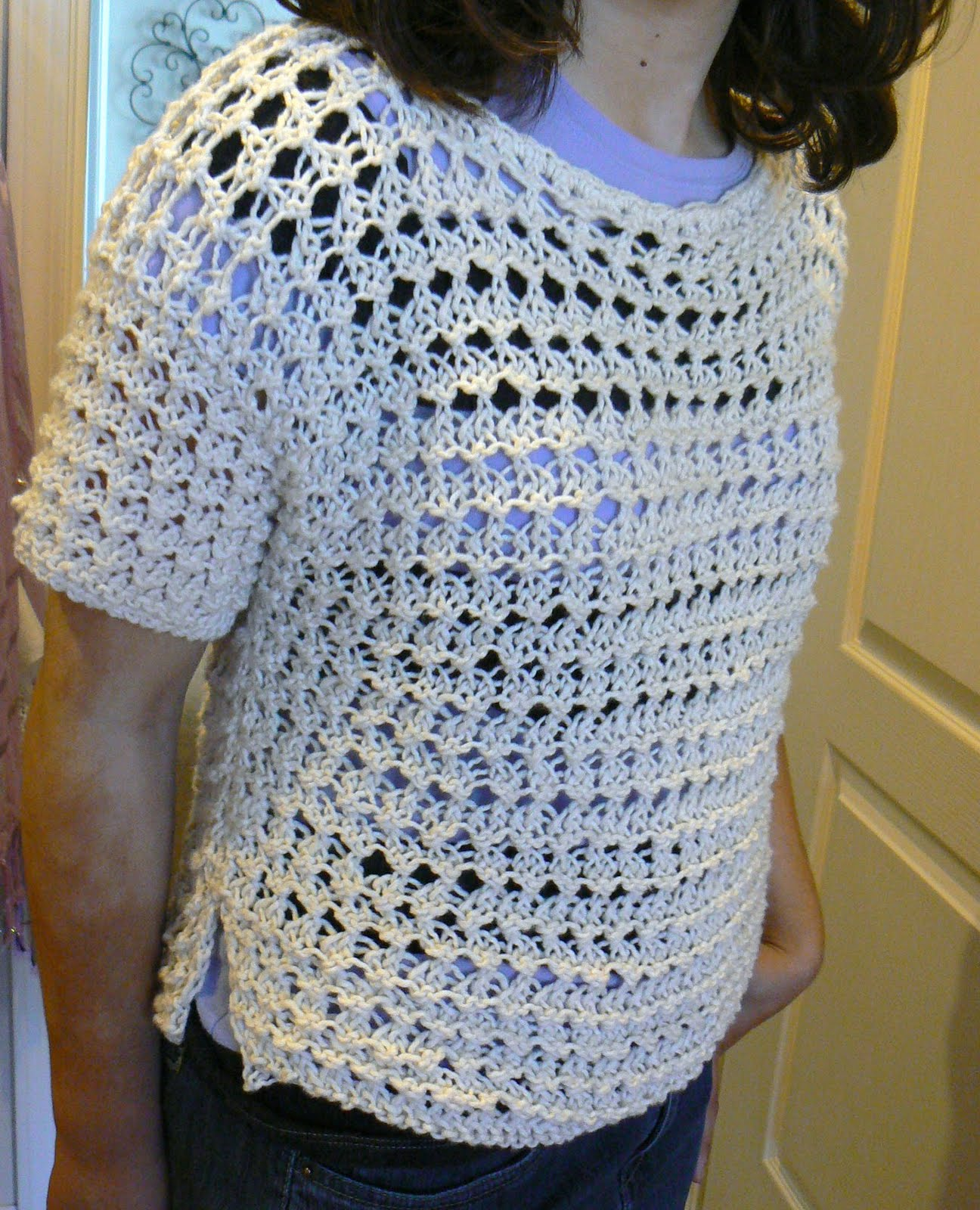 Invisible Loom Innovative Patterns for Loom Knitters: The Daisy ...