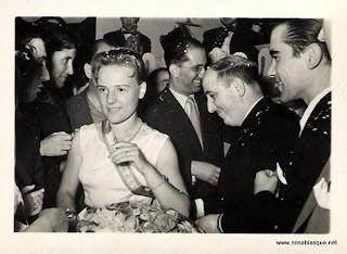 Reina de las Fiestas de Candelario Salamanca de 1957