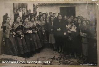 Candelarias con Concha de Celis