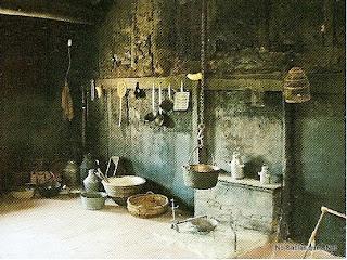Cocina antigua de Candelario