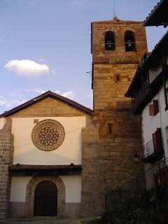 iglesia de Candelario puerta oeste
