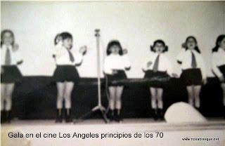 Gala en el cine Los Angeles de Candelario Salamanca en 1970