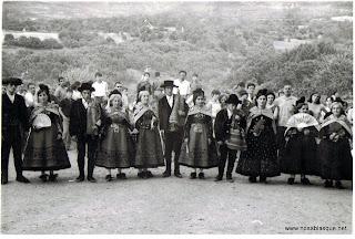 Candelarias y Choriceros en las Eras de Candelario Salamanca